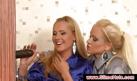 Blonde Aux Longs video porno massage sensuel Seins.